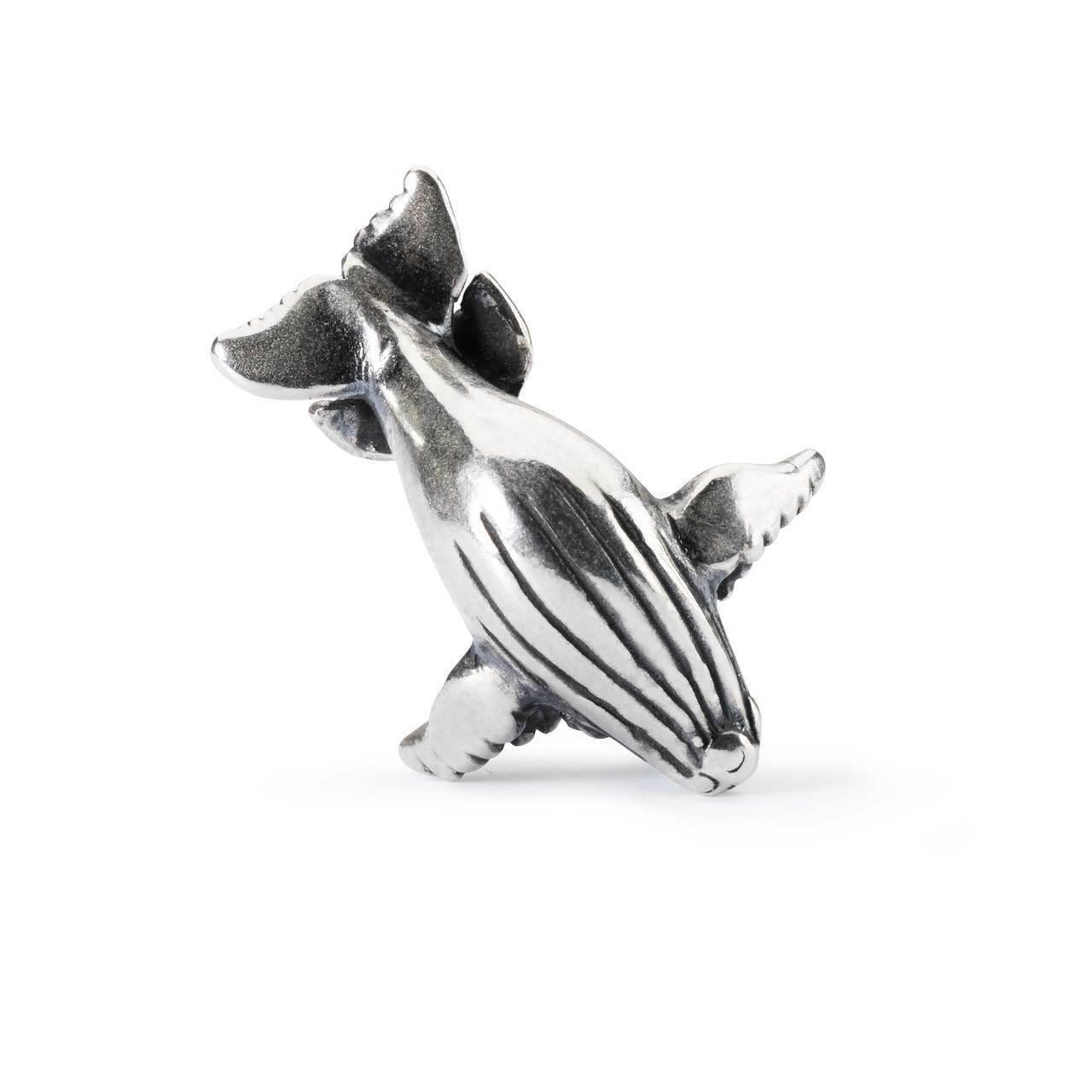 TROLLBEADS Bead in silver Abbraccio di Balena TAGBE-20139