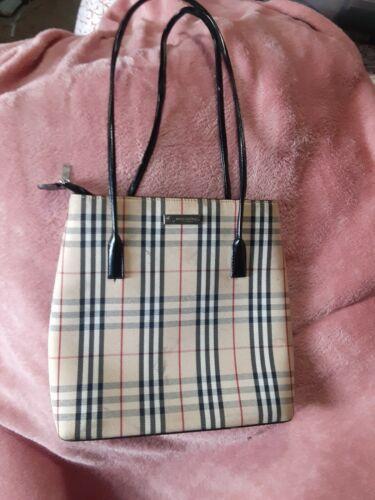 Burberry Handbag - 90's Vintage