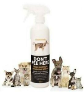 Don-039-t-Pee-Here-Stop-Spray-500ml-Dog-amp-Cat-Training-Urinating-Deterrent