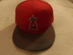9167c5579ad MLB LA ANGELS OF ANAHEIM Snapback Hat Baseball Cap SGA 8 21 New