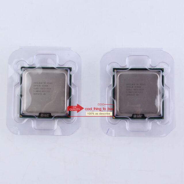 Matching pair Intel Xeon X5365 SLAED CPU LGA 771 3GHz 1333 MHz Processor