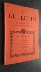 Notiziario Of I York Academy Of Medicina Luglio 1951 ABE