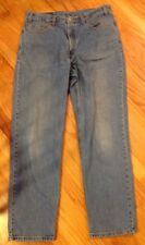 """Mens Levi`s Red Tag 550 Relaxed Jeans Stonewashed 36x32"""" Made In Canada"""