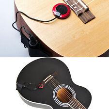 Pro Piezo De Contacto Micrófono Repunte Para Guitarra Violín Ukelele Banjo