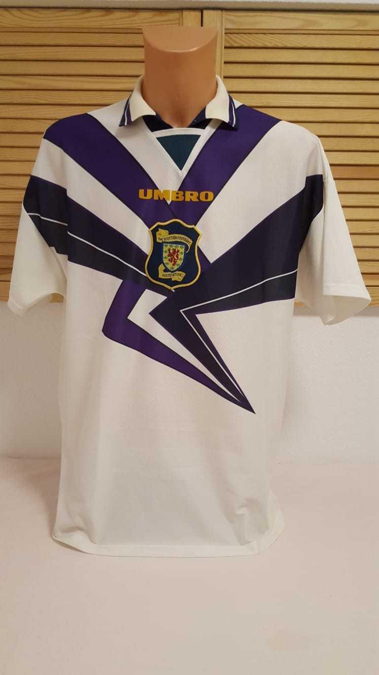 Schottland Scotland Trikot 1994 1996 Umbro Away XL Jersey Shirt Camiseta Maillot