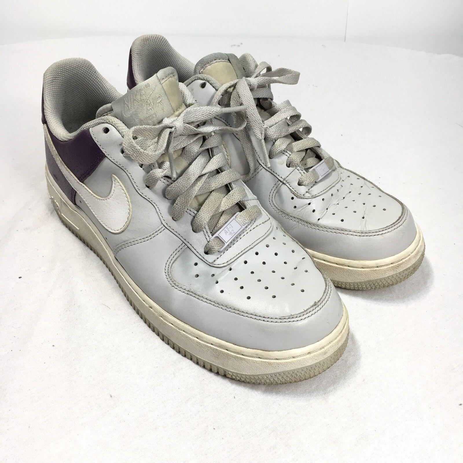 newest 27804 f7d16 Nike Air Force 1 AF 1 hombre 9 baloncesto blanco morado zapatos de  baloncesto 9 315122 Athletic 2b9547