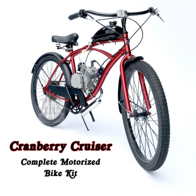 Ruff Rider Motorized 66cc Engine & Retro Cruiser Bicycle - Motor Bike Kit