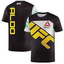 new product 83aaf 9b383 Reebok Combat UFC Jose Aldo Jersey - Black/chalk L