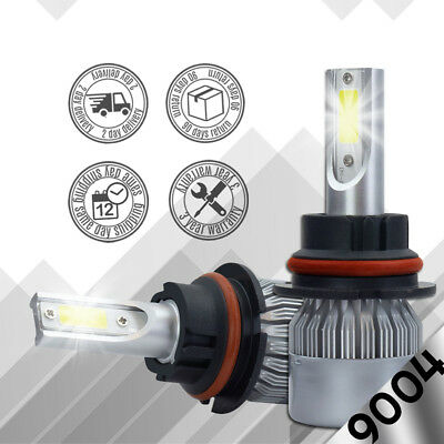 XENTEC LED HID Headlight Conversion kit 9004 HB1 6000K for 1985-1992 Toyota Cre