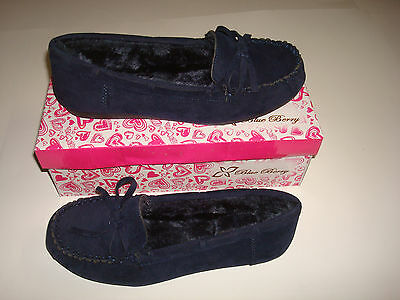 NEW WOMEN  FASHION  SHOES STYLE  Loafers  &  Moccasins  COLOR NAVY ( ON  SALE )