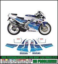 kit adesivi stickers compatibili  rgv 250 gamma 1991 white