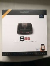 Escort Passport S55 High Performance Pro Radar and Laser Detector w/ DSP SEALED!