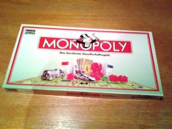 Monopoly - Parker - DM-Version - von 1992 - NEU - Inhalt OVP - ungespielt