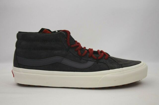 VANS Womens Sk8 mid Reissue MTE All Weather Forged Iron Grey Skate Shoes Size 9