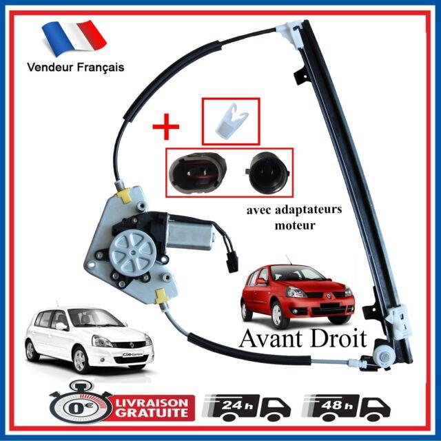 Alzacristallo Anteriore Destro Elettrico Monte Vetro Renault Clio 2