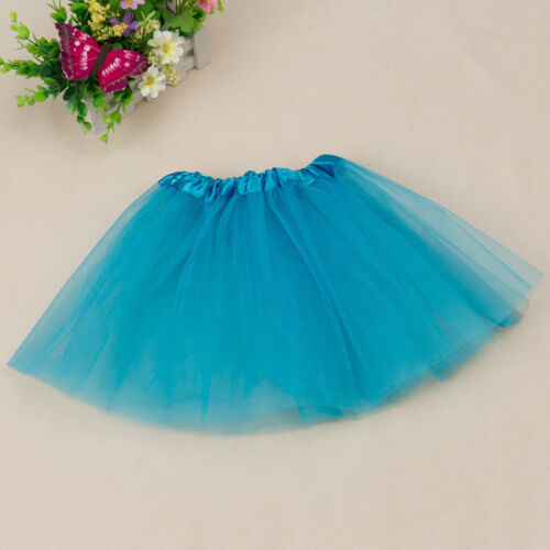 Girls Dancewear Party Costume Ballet Tulle TutuSkirt Princess Pettiskirt Dressup