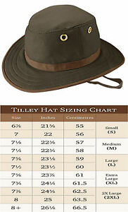 e17d19c9 Image is loading Tilley-TWC7-Outback-cotton-Hat