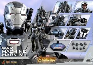 HOT-TOYS-AVENGERS-Infinity-GUERRE-WAR-MACHINE-MARK-IV-1-6TH-Collectible-Figure-NEW