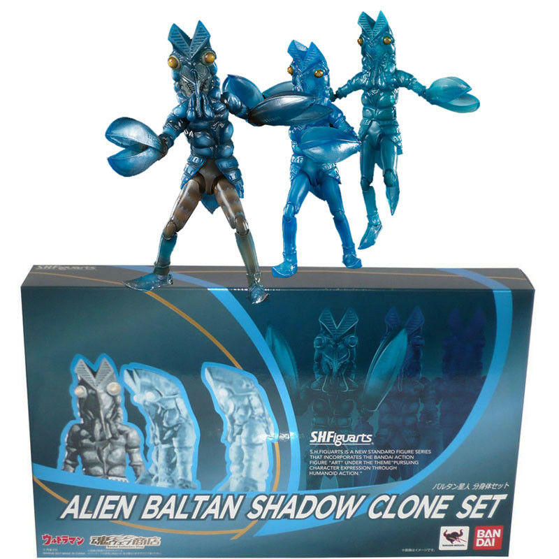 Tamashii Limited S.H.Figuarts Ultraman Alien Baltan Shadow Clone Set Figure