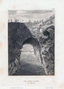 Le Goeta-canal En Suède-stst. Pour 1840 Bih-16, 0x11,5 Cm-afficher Le Titre D'origine