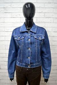 L Size Taglia Donna Woman Giubbino Jacket Giacca Jeans Replay Vintage Cotone wxqXOWI1t