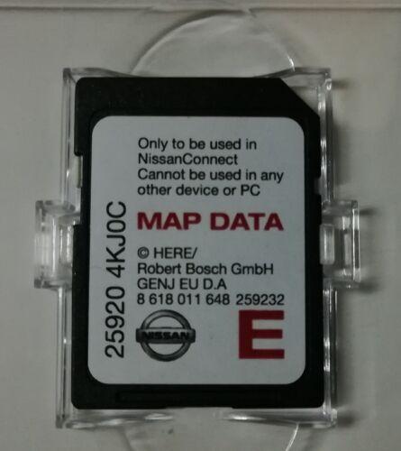 Mapas 2017-2018 NISSAN CONNECT 3 LCN2 KAI SAT NAV NAVIGATION  25920 4KJ0C