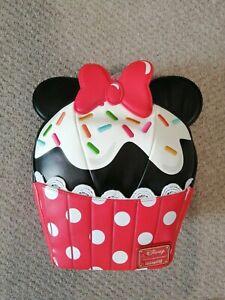Loungefly Disney Minnie Mouse Sprinkle Cupcake Mini Backpack - BNWT