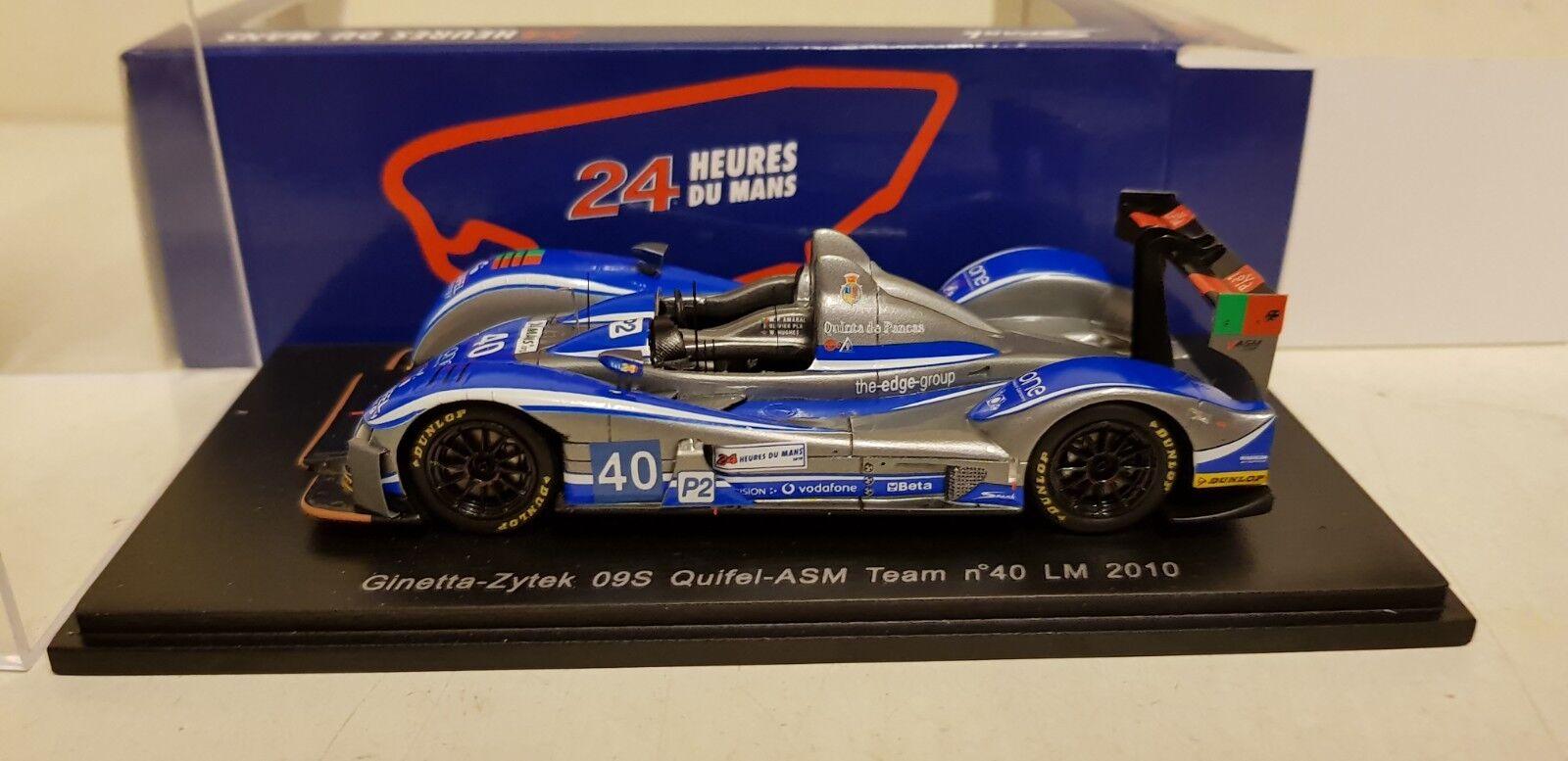 selección larga Spark Ginetta-Zytek 09s Quifel-equipo de ASM no 40 LM LM LM 2010 escala 1 43 S2551  ¡No dudes! ¡Compra ahora!