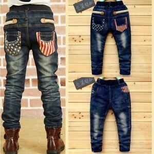 Ienens-enfants-Garcons-Jeans-Vetements-Denim-Vetements-Pantalon-Jeune-Garcon-Pantalon-Pantalon