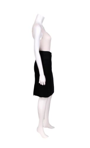 6 Retail 1 Us Nwt Ford Silk Cashmere Black 800 Blend Tom Pencil Skirt PncWvfn