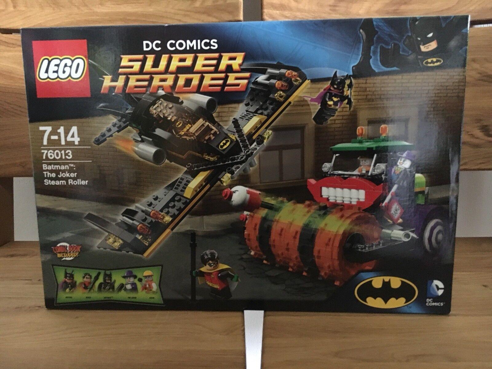 LEGO DC Universe Super Heroes Batman Jokers Dampfroller (76013) Neu/Ovp