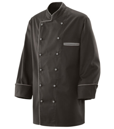 Exner Kochjacke mit Paspel Bäckerjacke Berufsbekleidung versch Farben Gr S-5XL