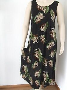 Travel Knit Dress stretchy no-iron poly//span #022 Long A-Line Tank NEW