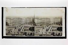 Nice Instantanée France Photo Lachenal & Favre Plaque stéréo ca 1865