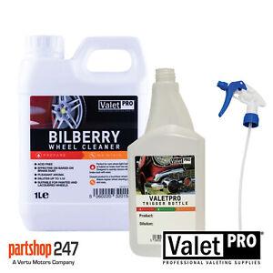 Valet Pro Bilberry Wheel Cleaner Acid Free / Safe On All Alloy - 1 Litre