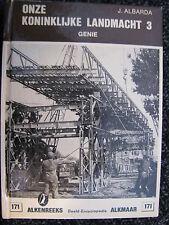 """De Alk Onze Koninklijke Landmacht 3 """"Genie"""" J. Alberda (Nederlands) #171"""