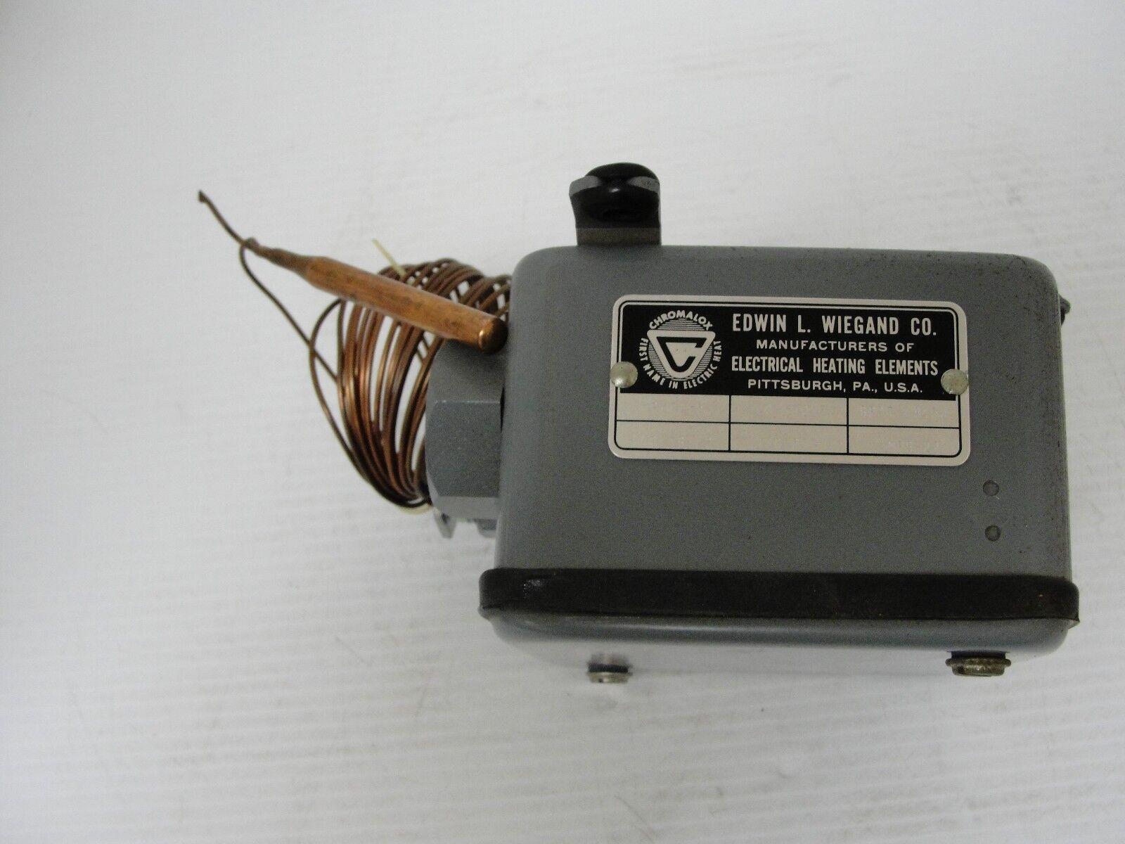 , Chromalox/Wiegand, Industrial Thermostat, PK4248-3, 3001A, 0-150F, SPDT 8450