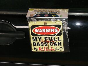 WARNING-MY-FULL-BASS-CAN-KILL-Magnet-Suction-Cup-Car-Decal
