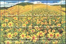 Thailand 2000 Bua Tong Meadow/Flowers/Nature/Plants/Horticulture 12v shtlt s3524