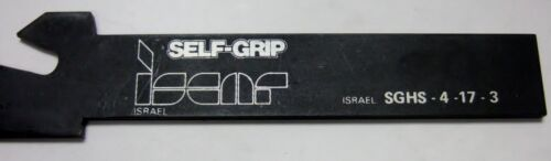 ISCAR SGHS 4-17-3 Self Grip Tool Holder Carbide Inserts Turning New