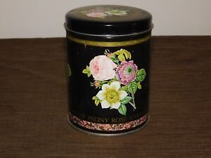 VINTAGE-5-1-2-034-HIGH-PEONY-ROSE-ANEMONE-ASTER-FLOWER-TIN-CAN-EMPTY