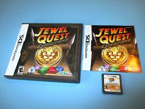 Jewel-Quest-Expeditions-Nintendo-DS-Lite-DSi-XL-3DS-w-Case-amp-Manual