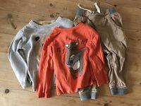Boys 12-18 Months John Lewis M&S Bear Bundle Top Trousers