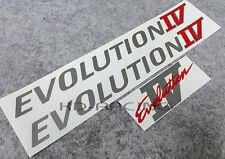 Evolution Evo 4 IV Door & Rear Sticker Decals Set CN9A Ralliart GSR FREE SHIP