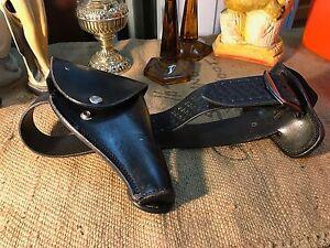 Australian-Hellweg-26-Medium-Leather-Police-Pistol-Waist-Belt-98cm-Long