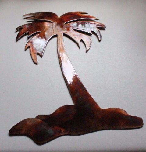 """Palm Island Metal Wall Art Decor 16/"""" tall"""