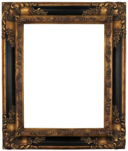 Monet The Park Wood Framed Canvas Print Repro 11x14