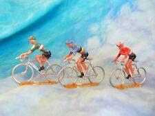 3 figurines de cyclistes en aluminium COFALU - SALZA ? Lot 16 (ref V20)