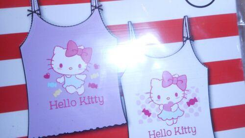 Unterhemden Neu mit Hello Kitty Gr 98//104 Doppelpack