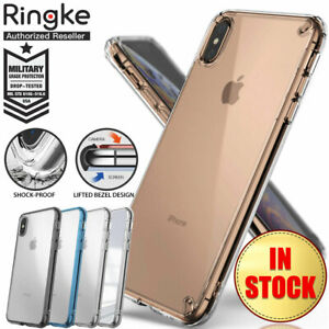 meet 857cf 258aa Details about iPhone XS Max XR X Case Genuine Ringke Fusion Clear Slim  Cover For Apple